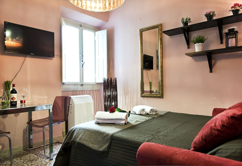 Vacchereccia 3 - Keys of Italy, Florence, Appartement, 1 grand lit, non-fumeurs, Chambre