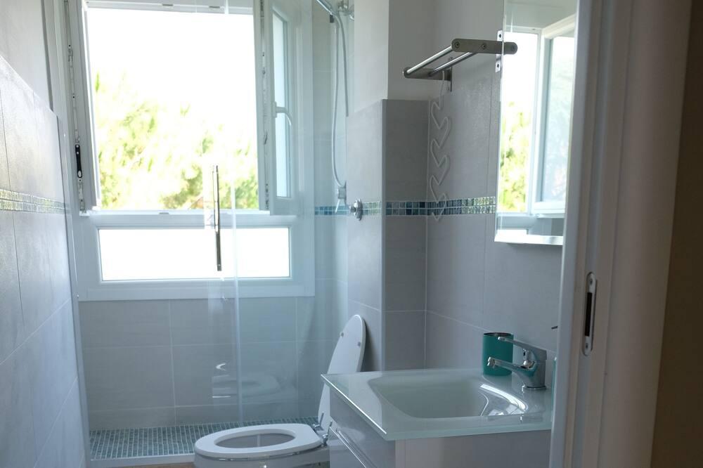 Išskirtinio tipo apartamentai, 3 miegamieji, virtuvė - Vonios kambarys
