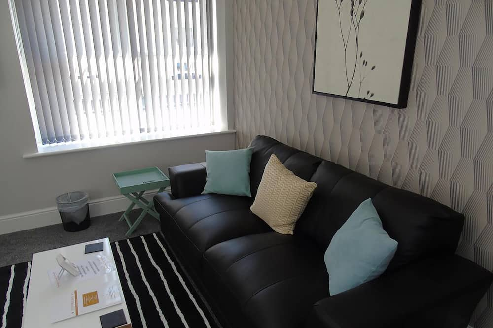 Executive Apartment, 1 Double Bed - Living Area