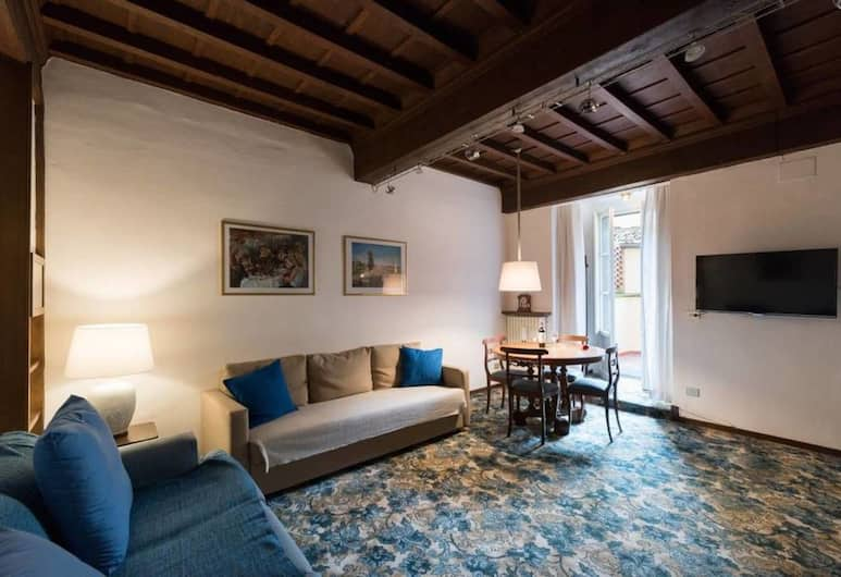 Vigna 2 - Elegant Apartment in the Centre of Flore, Florence, Apartment, 2 Bedrooms, Non Smoking, Ruang Tamu