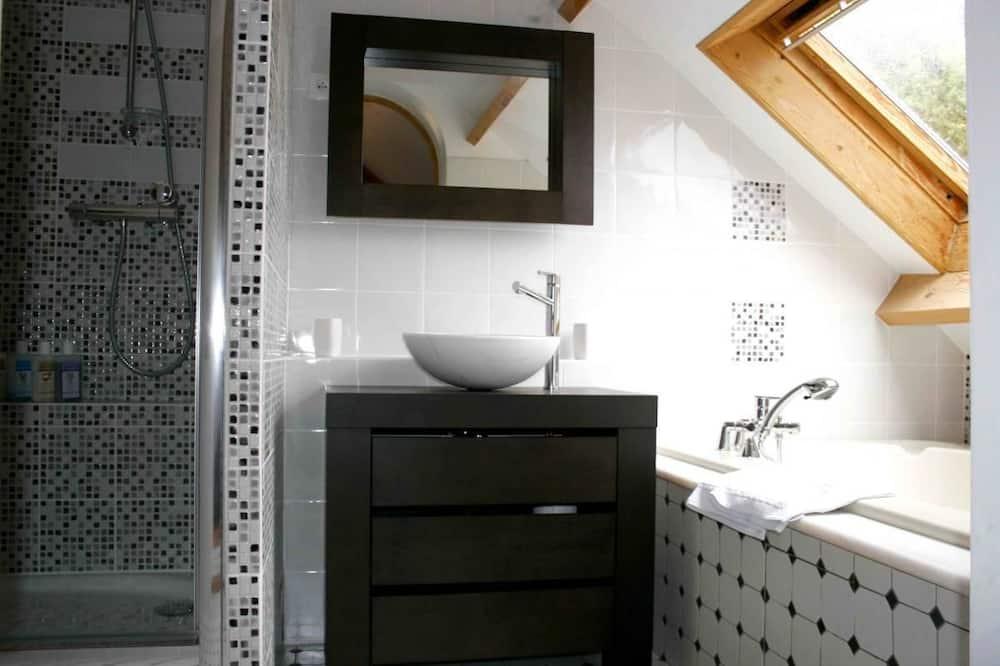 ห้องพัก (Tilleul) - ห้องน้ำ