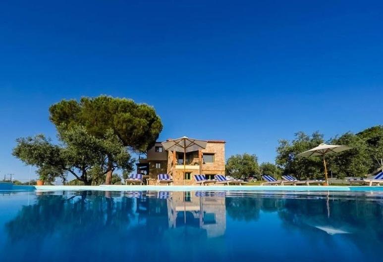 Mediterraneo Luxury Suites Halkidiki, Sithonia, Piscina Exterior