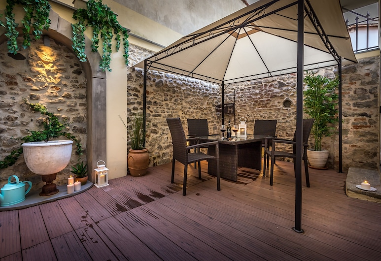 Relais Gaia - Near Fortezza da Basso, Florencie, Pokoj typu Deluxe, Terasa