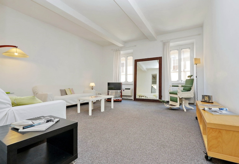 Babuino - WR Apartments, Rome, Apartment, 2 Bedrooms, Living Area