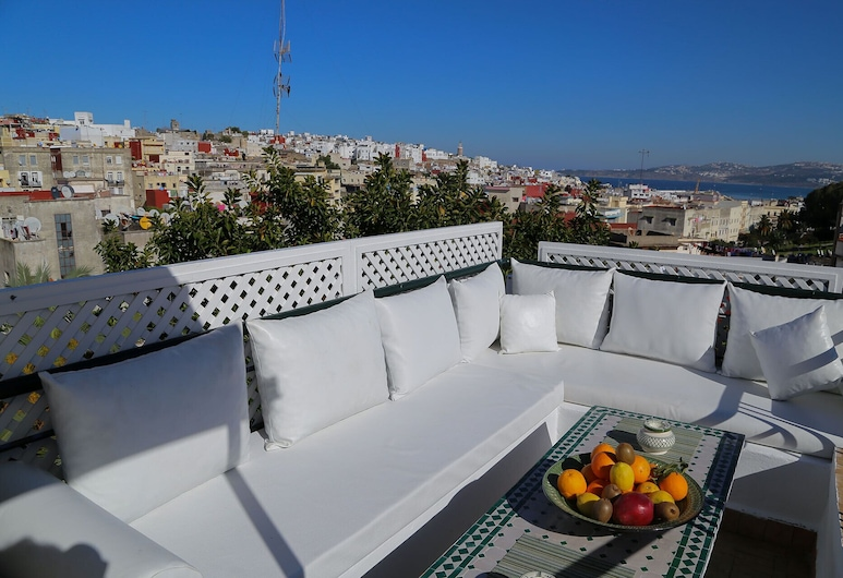 La Maison de Tanger , Танжер, Терраса/ патио