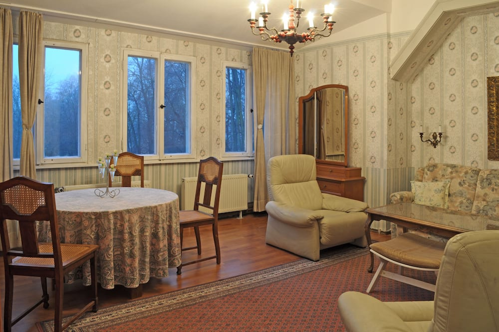 Studio Klasik, Beberapa Tempat Tidur, pemandangan taman - Area Keluarga