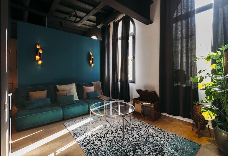 La Rosa by The Streets, ברצלונה, דירת אקונומי, 2 חדרי שינה (2 pax), אזור מגורים
