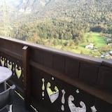Panorama vierpersoonskamer, Toegankelijk voor mindervaliden - Balkon