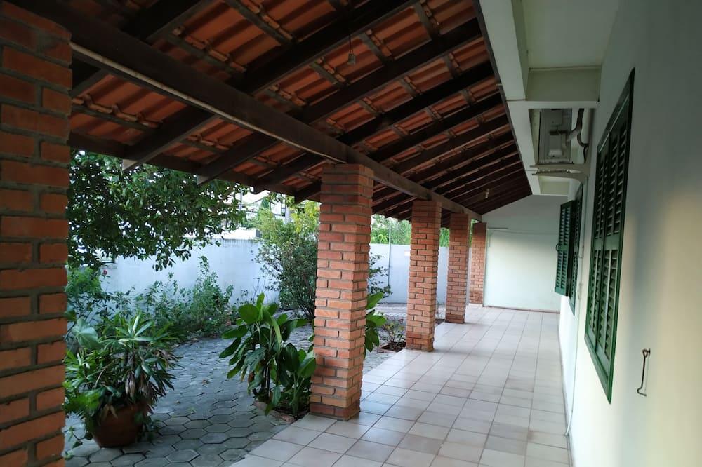 Havajiešu stila veranda