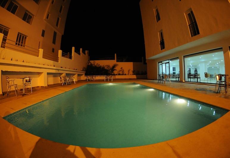 Free Zone Hotel, Hjar Ennhal, Outdoor Pool