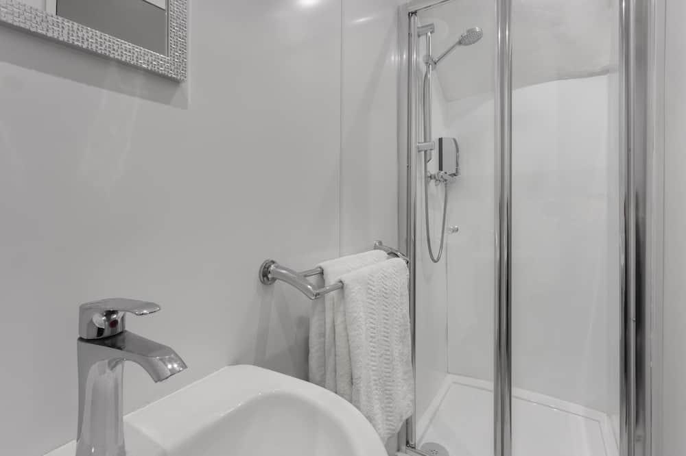 Comfort-Doppelzimmer, 1 Schlafzimmer (Room 5) - Badezimmer