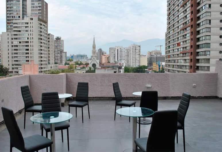 Origen Apart Hotel, Santiago, Terrace/Patio