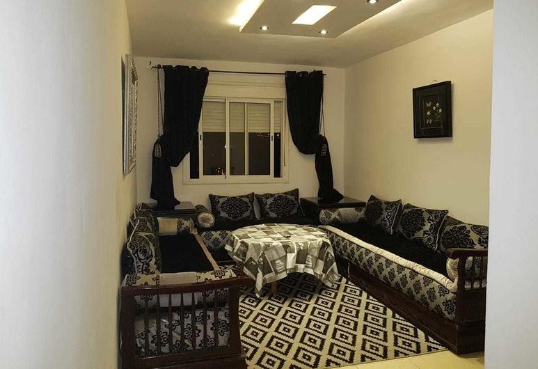 Appart bel bachir, Tanger, Comfort-Apartment, Nichtraucher, Wohnzimmer