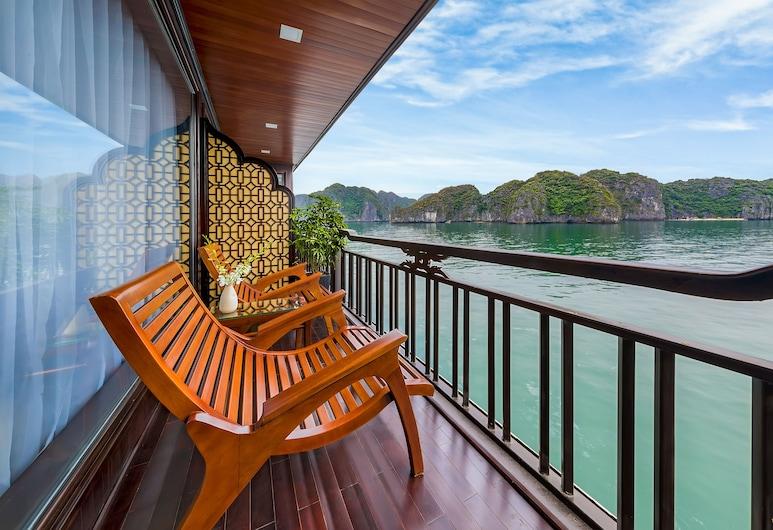 La Regina Legend Cruise, Ha Longas, Princess Suite with Private Balcony, Balkonas
