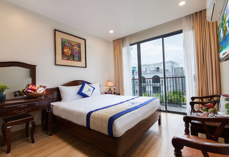 Coral Phu Quoc Hotel, Phu Quoc, Deluxe Double or Twin Room, Balcony, Guest Room View
