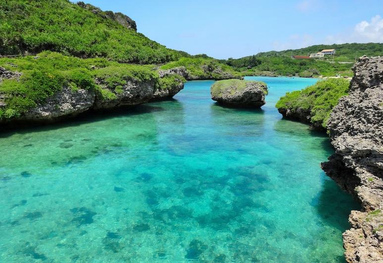 upissa, Ostrov Miyako, Pláž