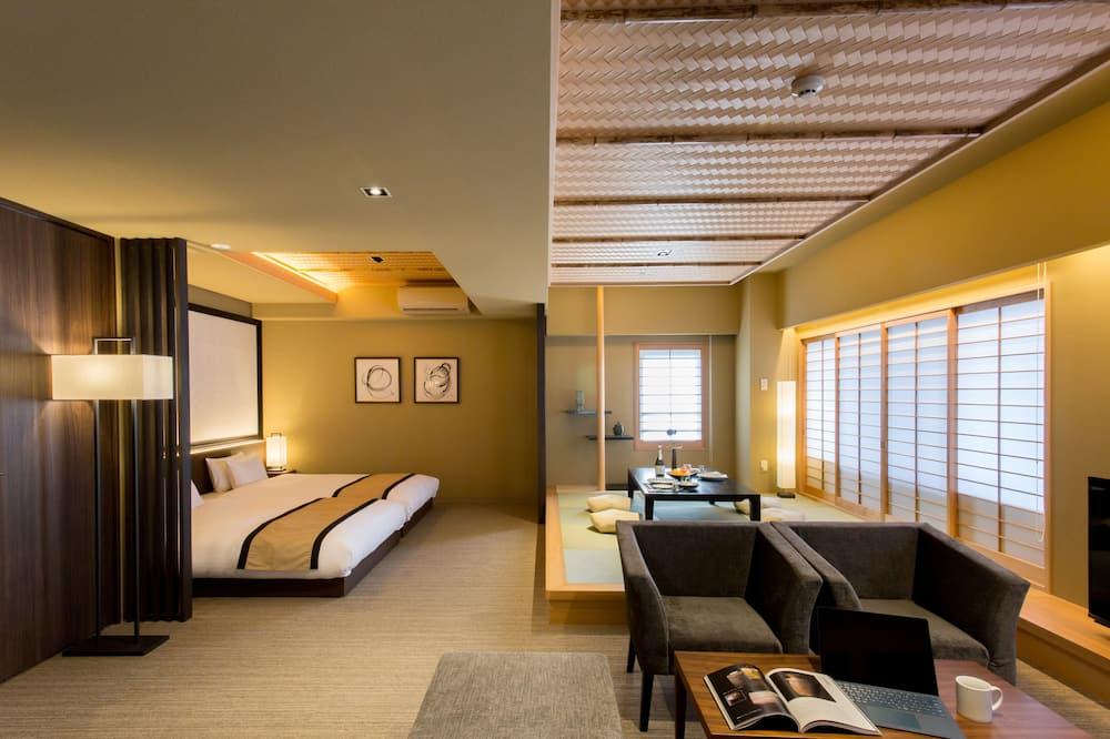 Premium Oda (Hauza Suite) - Oturma Alanı