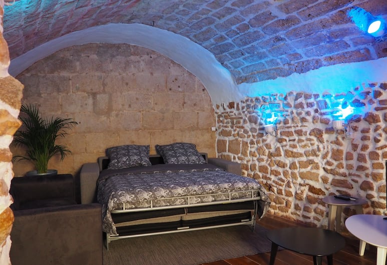l'Echoppe de l'Amandier, Montpellier, Appartement, non-fumeurs, Chambre