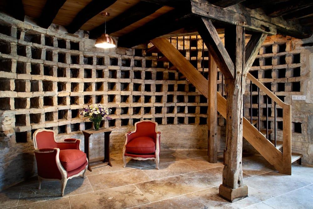 Hus – romantic (Chambre Michel) - Oppholdsområde