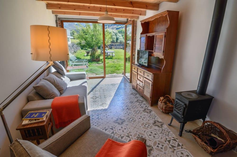 Kuća, 1 spavaća soba, pogled na planinu - Dnevna soba