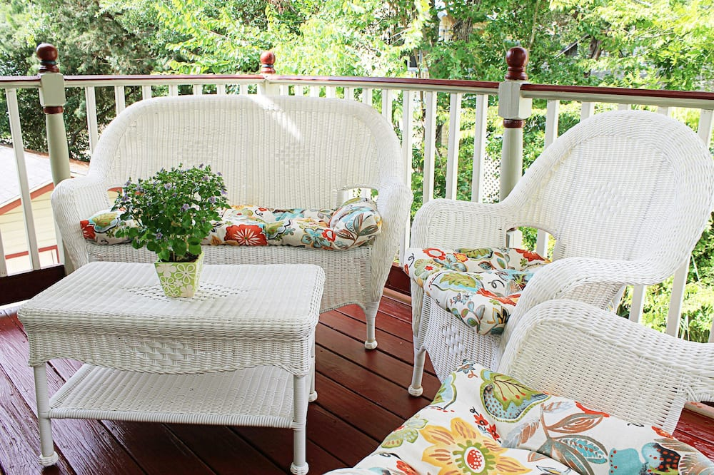 Honeymoon-Suite, 1King-Bett, Balkon - Balkon