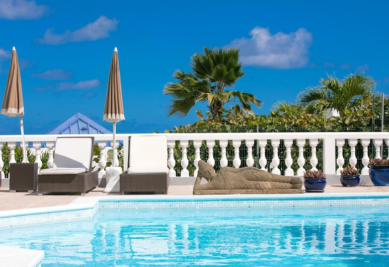 Villa With 3 Bedrooms in ST Martin, With Wonderful sea View, Private Pool, Enclosed Garden - 500 m From the Beach, Baie Orientale, Piscine