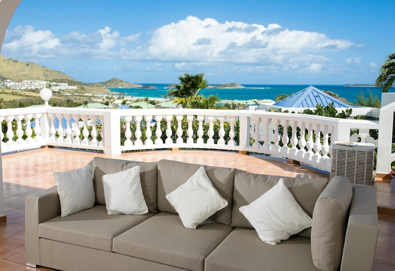 Villa With 3 Bedrooms in ST Martin, With Wonderful sea View, Private Pool, Enclosed Garden - 500 m From the Beach, Orient Bay