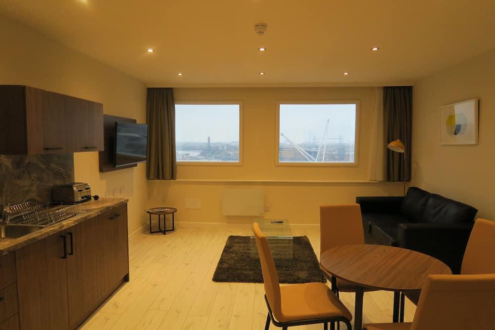 Apartmán typu Premium, 2 spálne - Obývacie priestory