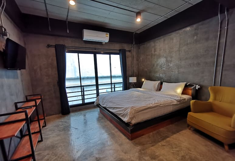 Norn Nee Nor Hostel&Cafe, Chiang Mai, Deluxe Double Room, 1 King Bed, Non Smoking, Guest Room