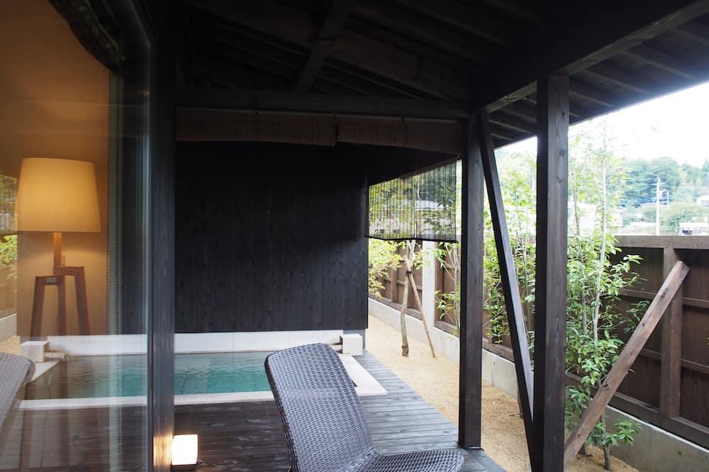 Private Building with Semi Open Air Bath - 1 - Bathroom