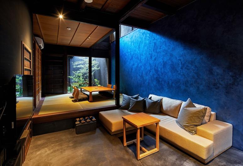 遠離京都壬之宿, Kyoto, 傳統聯排別墅, 客廳