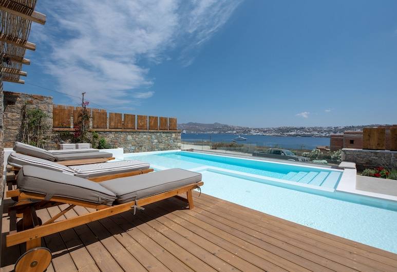 Amaris Mykonian Residence, Míkonos, Bungalow de lujo, piscina privada, Piscina privada