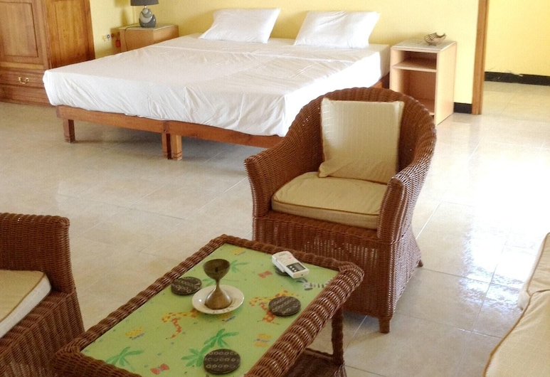 Apartment With 3 Bedrooms in Trou aux Biches, With Wonderful sea View, Furnished Garden and Wifi - 250 m From the Beach, Trou aux Biches, Külaliskorter, vaade merele, Tuba