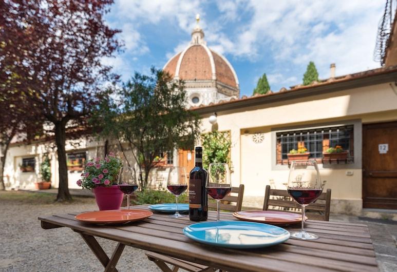 La Gabbia del Grillo, Florencia, Terasa