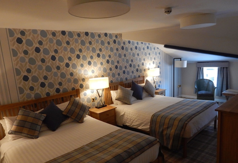 The Bubble Hotel, Derby, Family Room, Guest Room