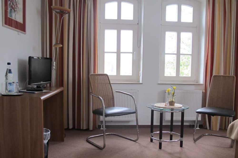 Tweepersoonskamer, 1 tweepersoonsbed, niet-roken - Woonruimte