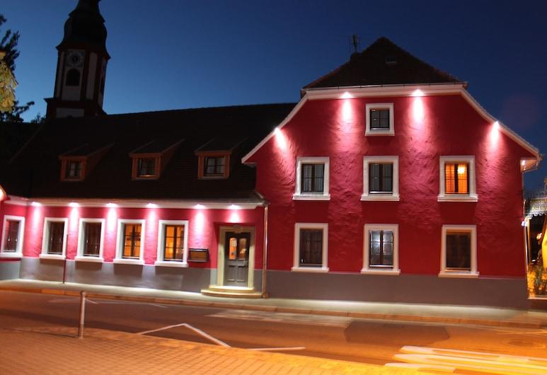 Hotel Restaurant Hochdorfer Hirschen, Fribourg-en-Brisgau, Façade de l'hôtel - Soir/Nuit