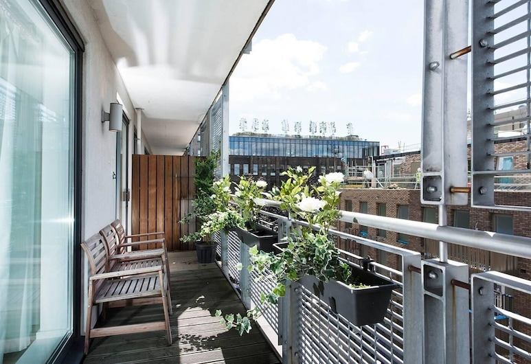 Stylish 2BR flat with balcony, near King's Cross!, London, Külaliskorter, 3 magamistoaga, Rõdu