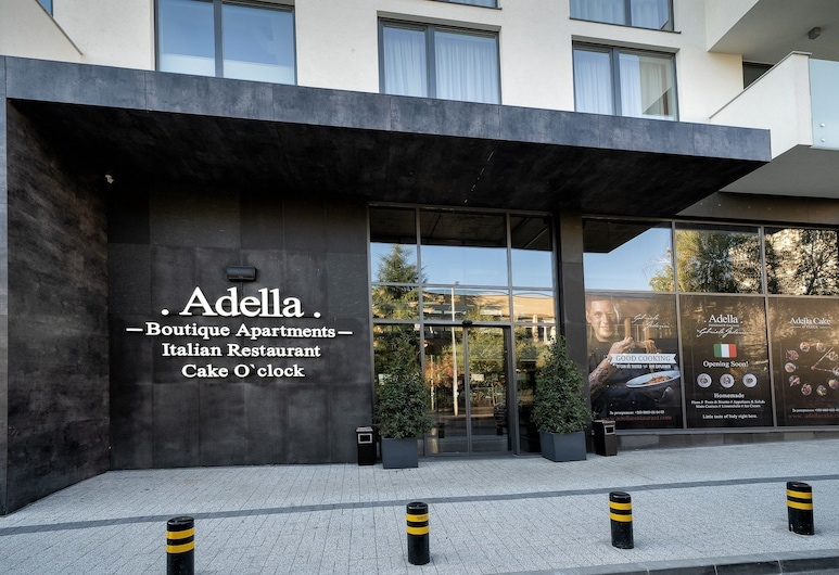 Adella Boutique Hotel, Sofia, Hotel Entrance