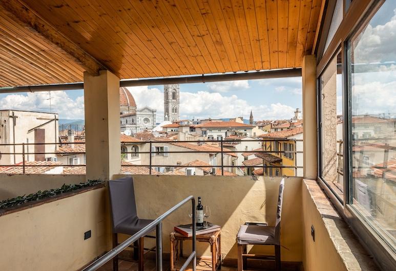 San Lorenzo Terrace, Firenze, Appartamento Comfort, Letti multipli, non fumatori, Terrazza/Patio