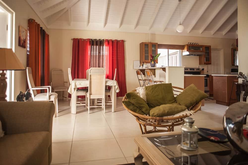 Dom rodzinny, 2 sypialnie, przystosowanie dla niepełnosprawnych, dla niepalących - Salon