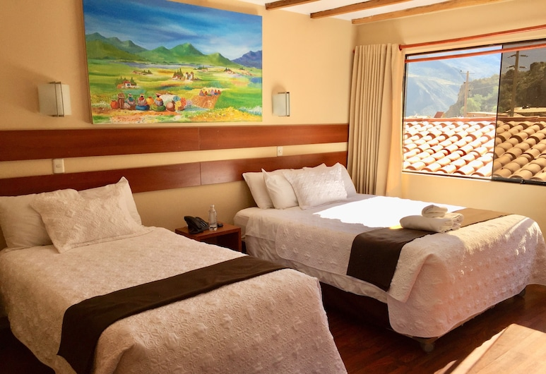Sol Miranda Hotel, Ollantaytambo, Superior Double or Twin Room, Valley View (Mountain and Ruin View), Guest Room
