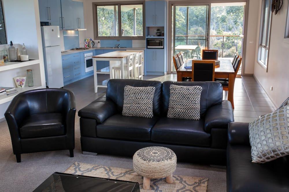 Casa panorámica, 5 habitaciones, para no fumadores - Sala de estar
