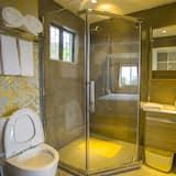 Apartmán, výhľad na záhradu - Kúpeľňa