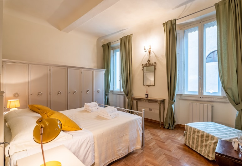 The Painter's House in Santa Croce, Florence, Appartement Confort, 2 chambres, non-fumeurs, Chambre