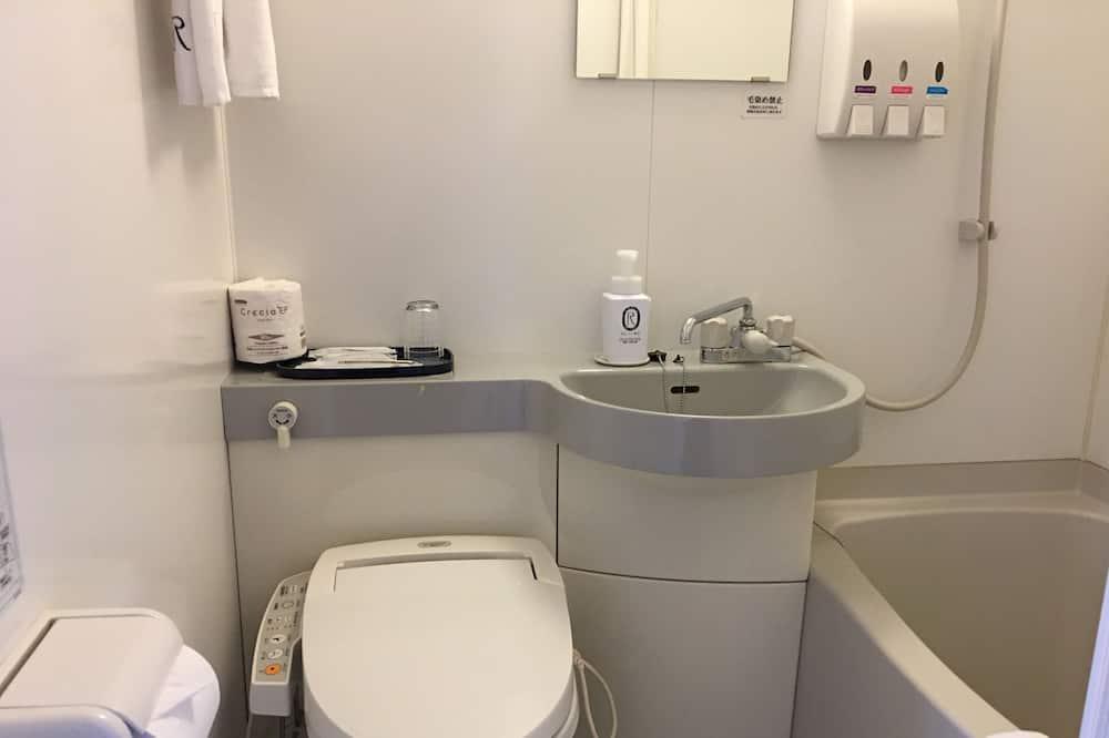 Enkeltværelse - ryger - Badeværelse