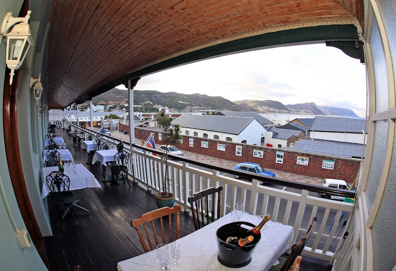 Central Hotel Guest House, Cape Town, Honeymoon Suite, Balcony