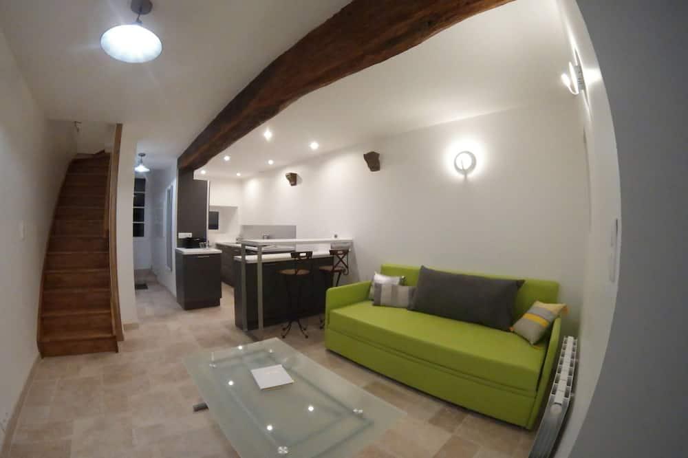 Apartment, 2 Bedrooms (Triplex) - Living Area