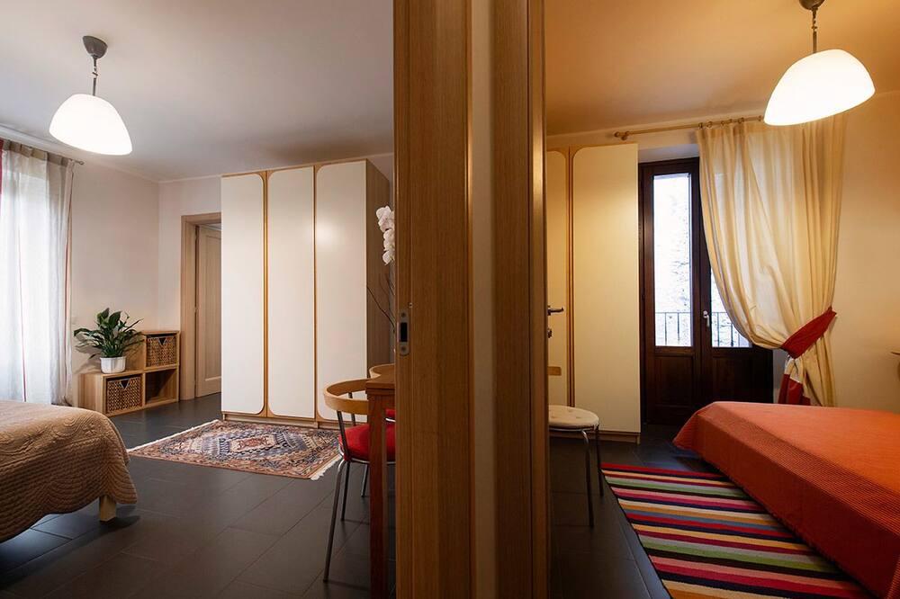 Dobbeltværelse - balkon - Opholdsområde
