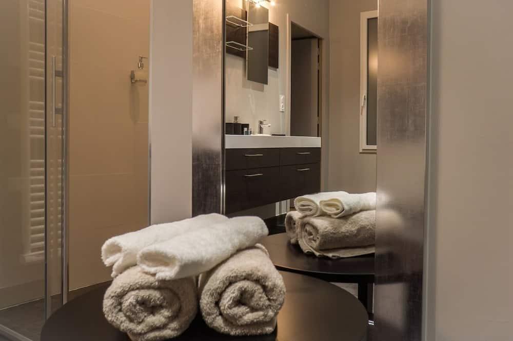 Σουίτα, Μπάνιο στο δωμάτιο, Θέα στον Κήπο - Μπάνιο